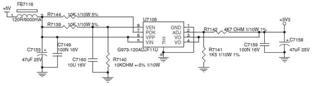 G973-120ADJF11U Стабилизатор напряжения регулируемый